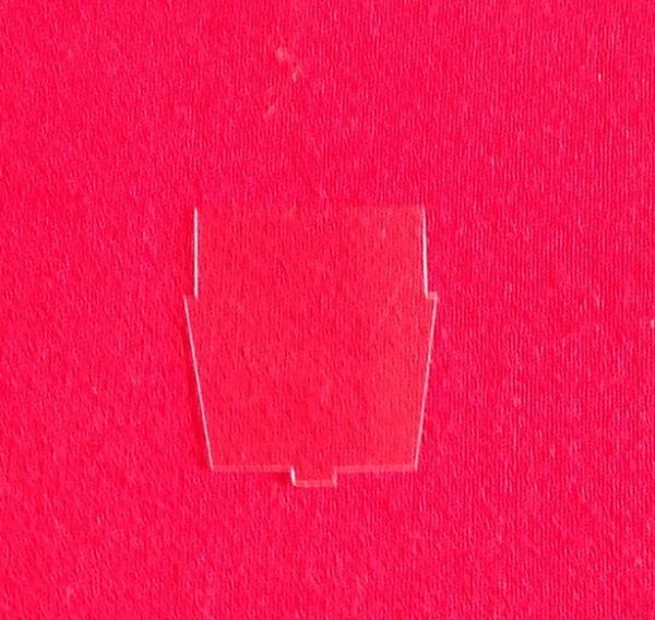 Dinky Toys 38C Lagonda clear plastic screen [ Each ]
